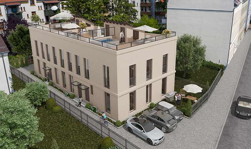Bucksdorf-Fasade